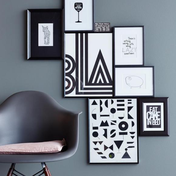 Wandfarbe Grau Wohnen und einrichten mit der Trendfarbe