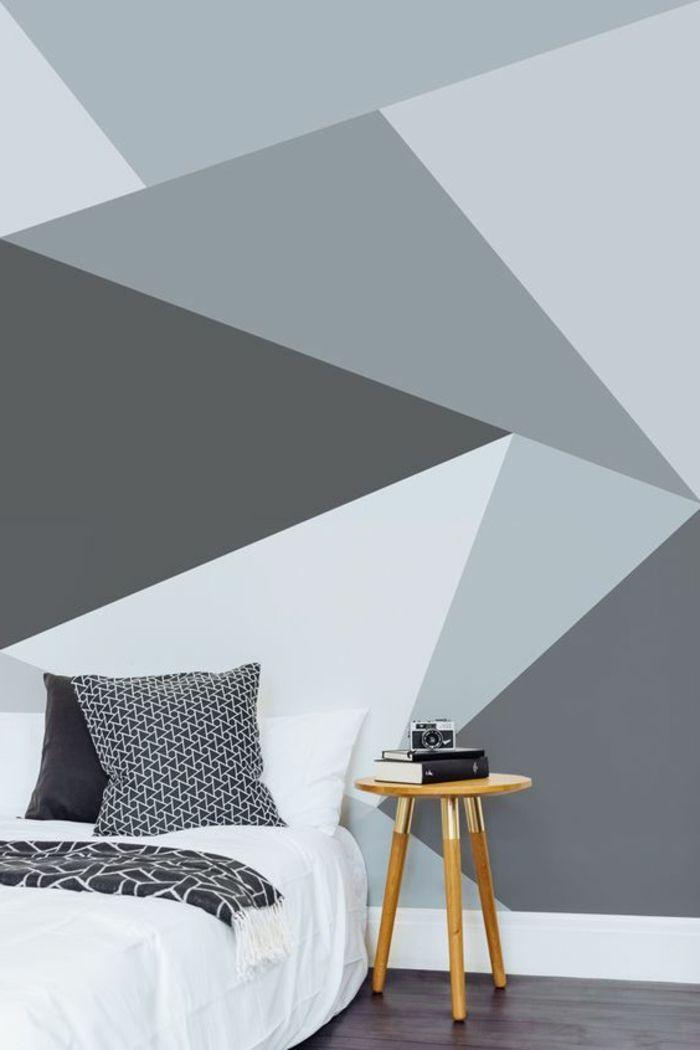 Wohnzimmer Streichen Muster Konzept