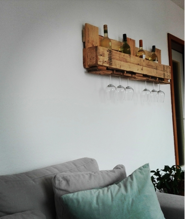 Weinregal Wohnzimmer