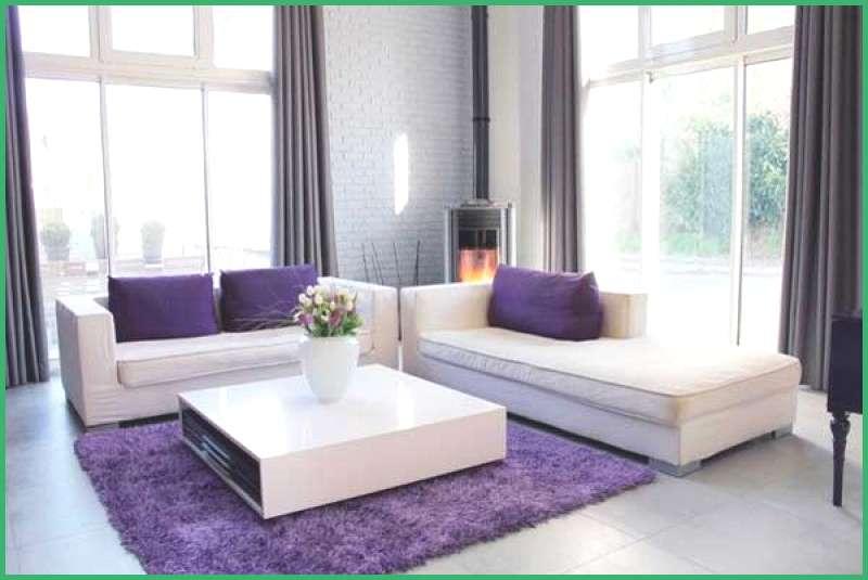 Weiss Grau Wohnzimmer Mit Violett Deko 42 Genial Bild