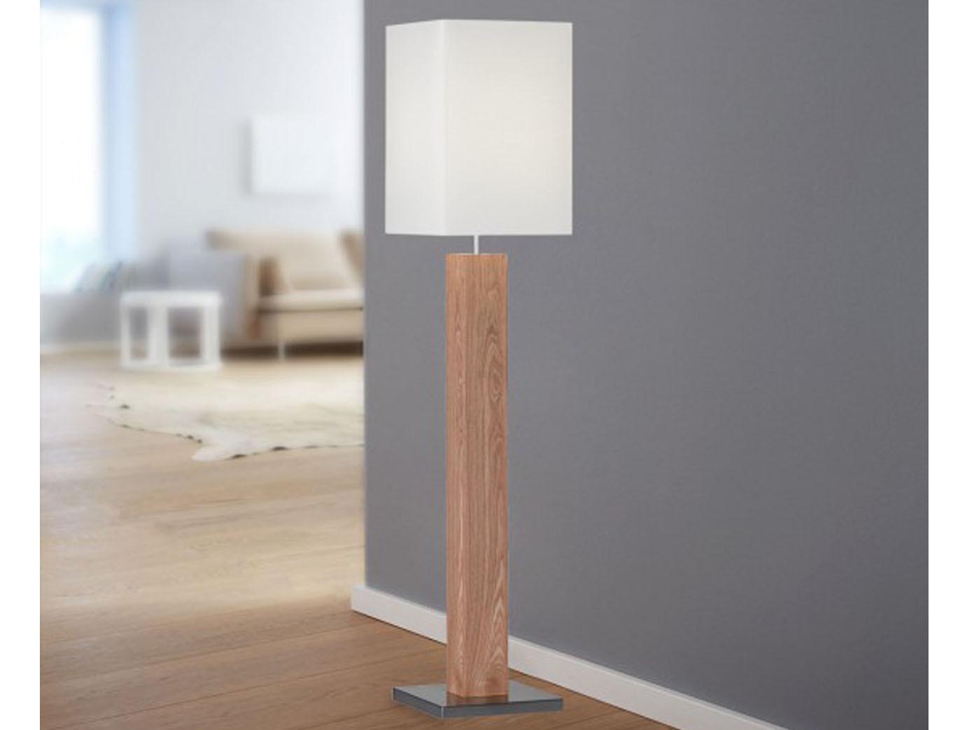 Stehlampe Wohnzimmer Holz Planen