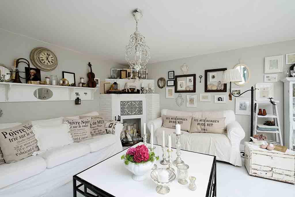 Wohnen – ganz romantisch Landhaus Look