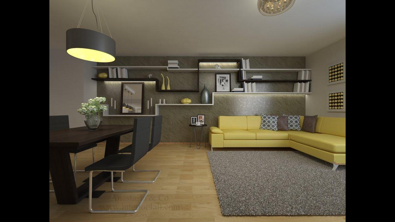 Wohnung Modern Einrichten Vorher Nachher