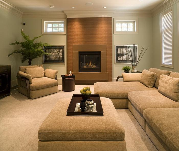 Wohnzimmer Beige Sofa – ragopigefo