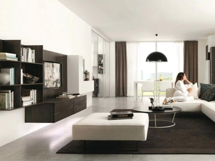 Wohnzimmer Braun Weiß