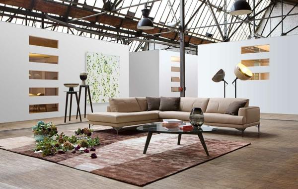 Wohnzimmer einrichten Beispiele sehenswert sind