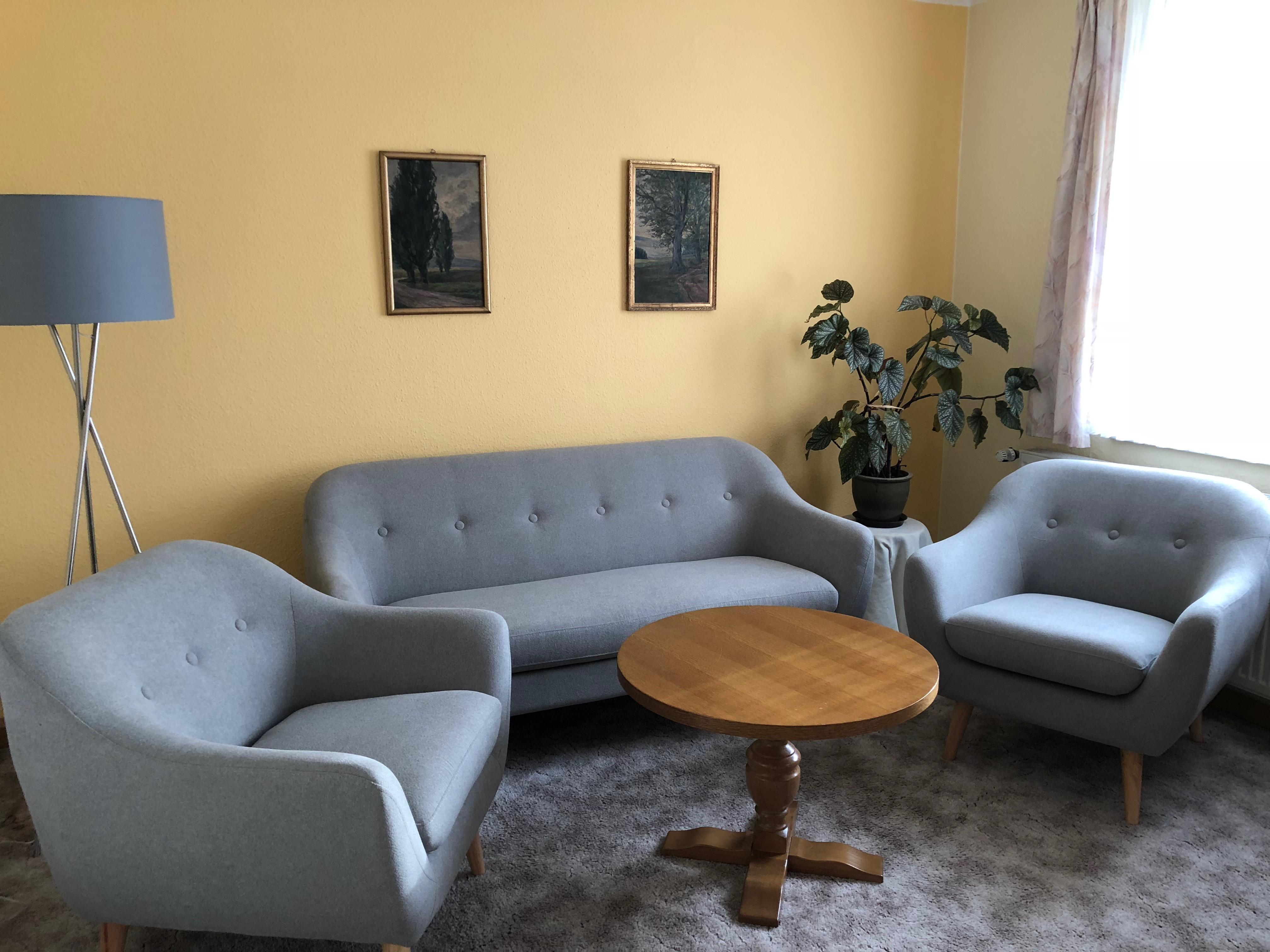 Wohnzimmer Ferienwohnungen in Dresden