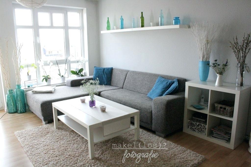 Wohnzimmer Grau Blau Einrichten Mit Grau Blau Und Weia