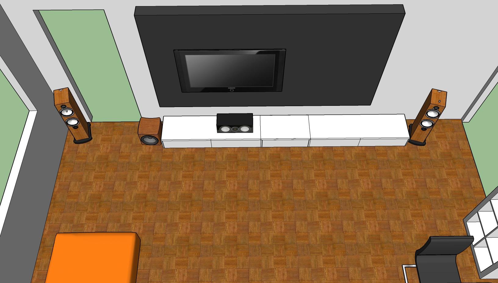 Wohnzimmer Hifi Front
