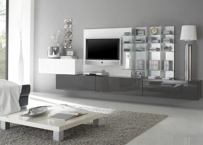 Wohnzimmer Ideen Weiss Grau Stilvoll Mit Bescheiden