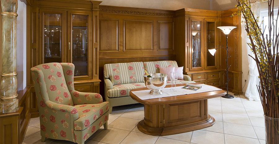 Wohnzimmer im Landhausstil Planung Fertigung und Montage