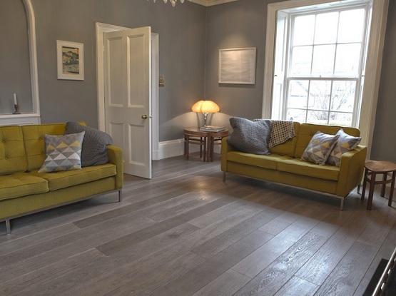 Wohnzimmer Laminat Bodenbelag Ideen Grau Holz Laminat Für