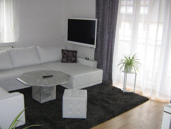 Wohnzimmer Mein Domizil mit neuen Farben von difire