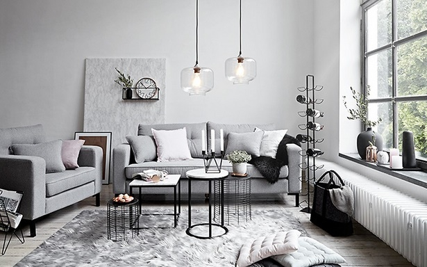 Wohnzimmer puristisch