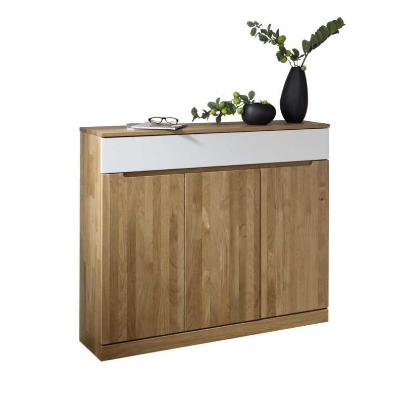 Wohnzimmer Sideboard Natrius aus Wildeiche Massivholz