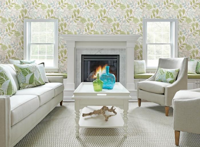 Wohnzimmer Tapeten Ideen wie Sie Wohnzimmerwände beleben