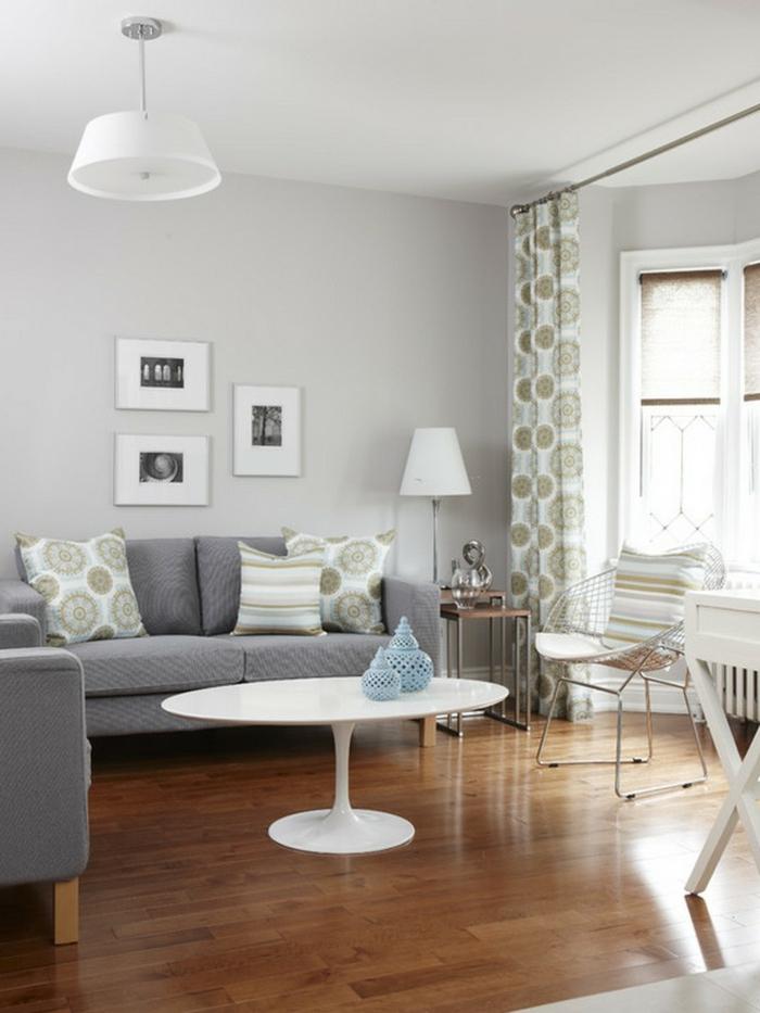 Wohnzimmer Wand Grau Finest Wohnzimmer Farbideen Die With