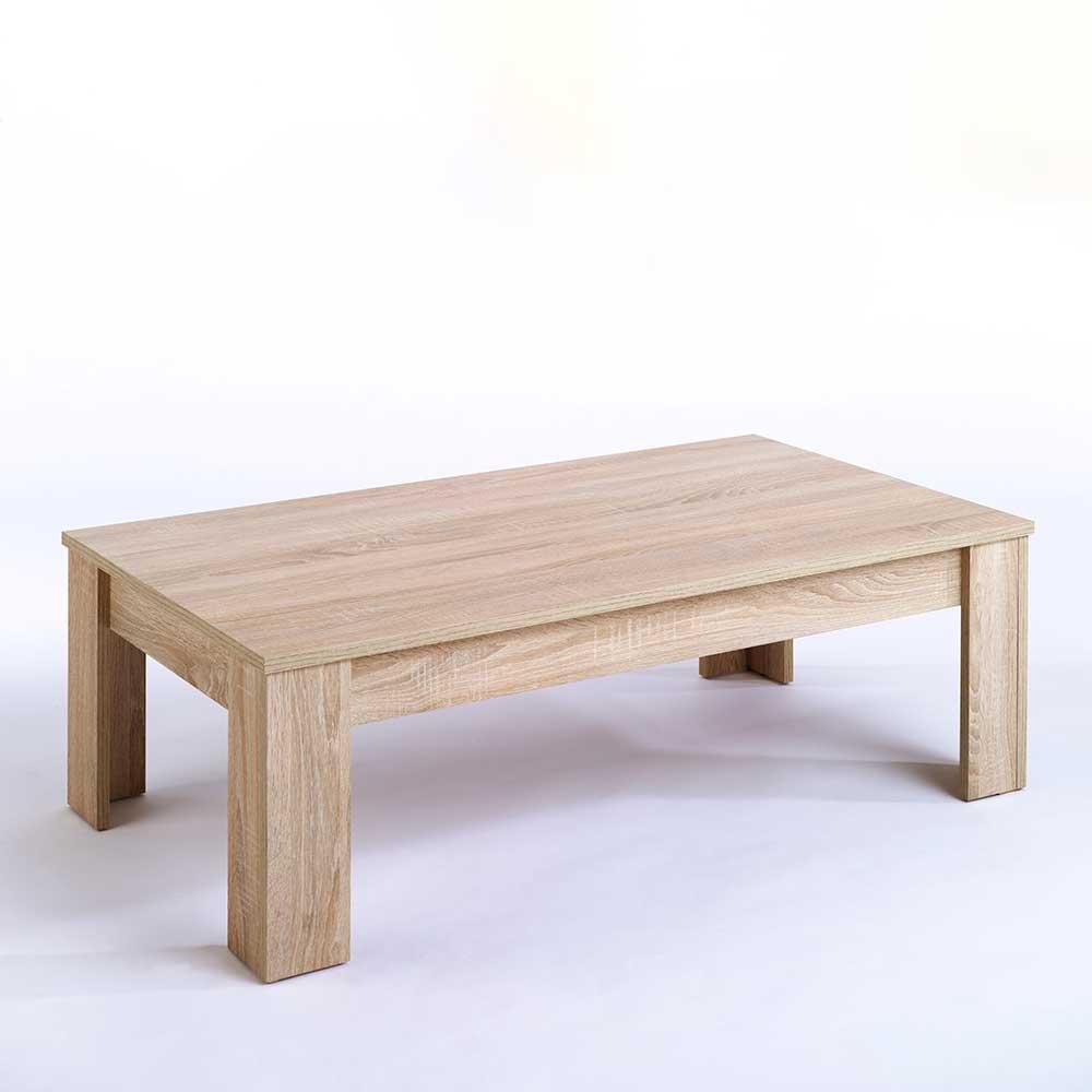 Wohnzimmertisch in Sonoma Eiche 120 cm breit Tisch kaufen