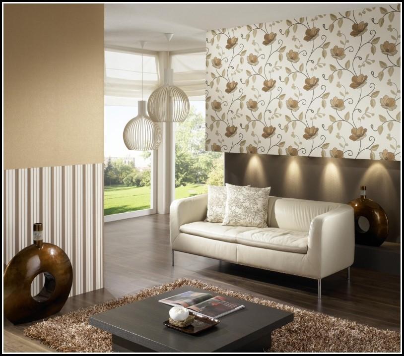 Zauberhaft Wohnzimmer Tapeten Ideen Modern Design 5740